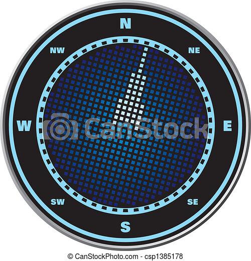 Compass digital display - csp1385178