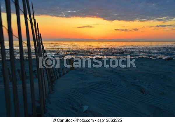 Sunrise   Cape Hatteras - csp13863325