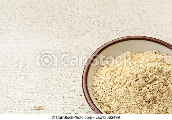 maca root powder  - csp13863499