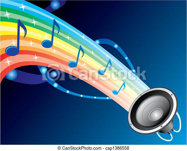 Sound of rainbow - csp1386558