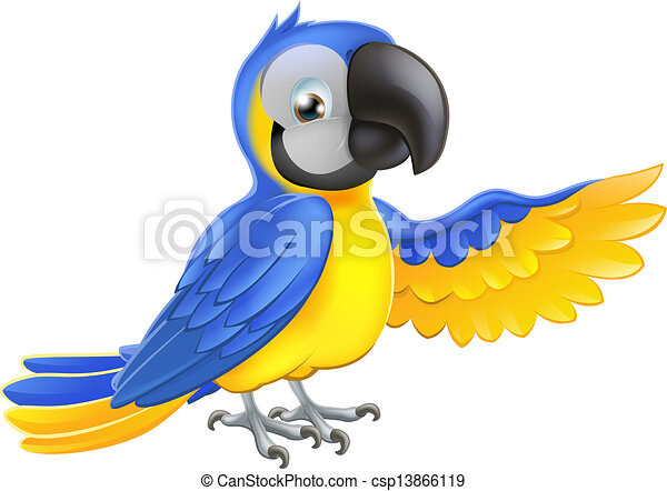 vector clip art of cute blue and yellow parrot a blue Turtle Clip Art Scarlet Macaw Clip Art