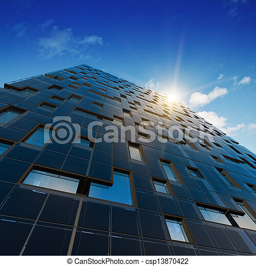 Architecture abstract office - csp13870422