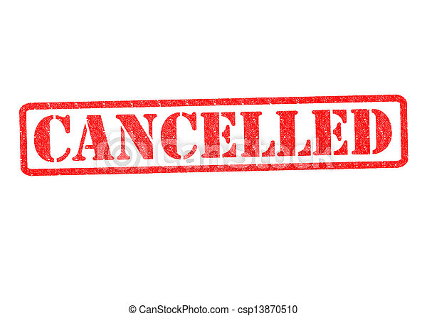 CANCELLED Rubber Stamp - csp13870510