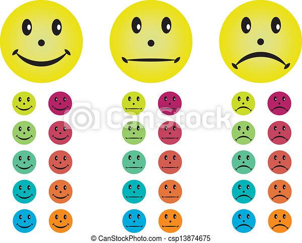 vector illustratie van smileys  vrolijke  neutraal clip art smiley face wink clip art smiley face gif