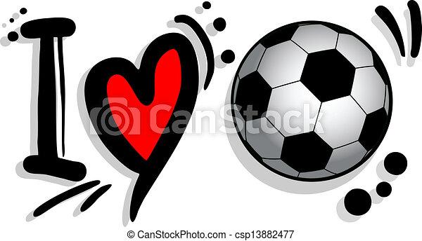 vectors illustration of i love soccer design of i love saints football logo clipart college football helmet logos clip art