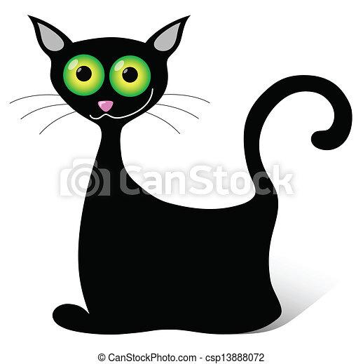 black cat - csp13888072