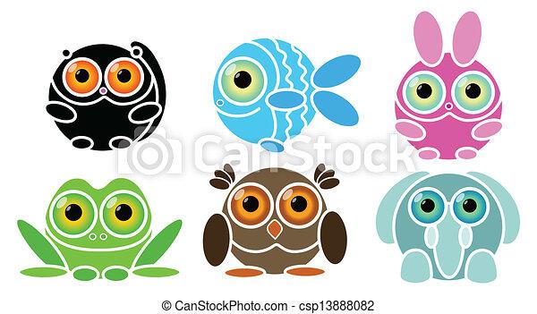 animals - csp13888082