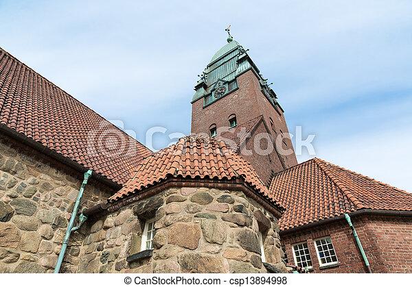 Masthuggskyrkan church at Goteborg in Sweden - csp13894998