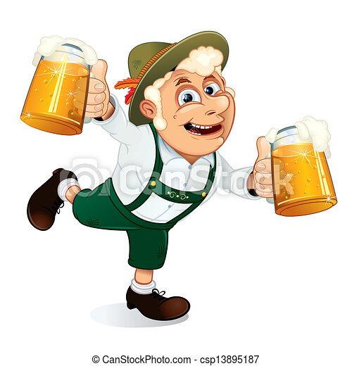 stock illustratie van oktoberfest  kerel  hilarious drink clipart black drink clipart black