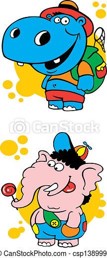 Ridiculous animals_3 - csp1389990
