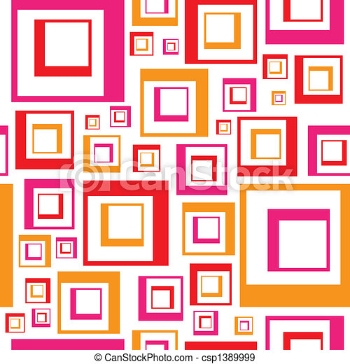 Funky Squares Pattern - csp1389999