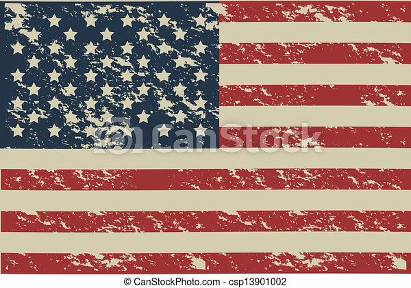 USA poster - csp13901002