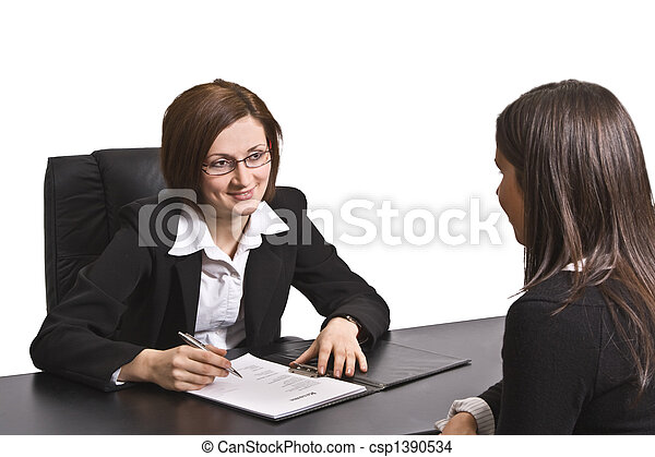 Job interview - csp1390534