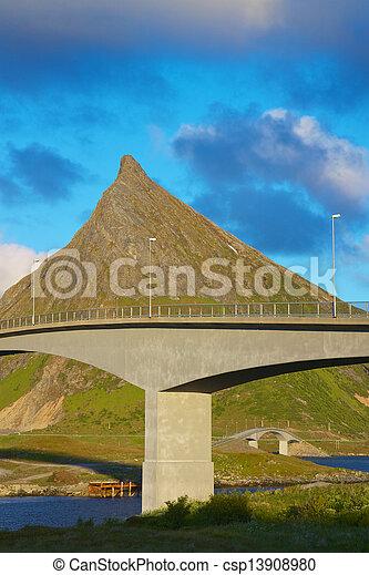 Norwegian bridges - csp13908980