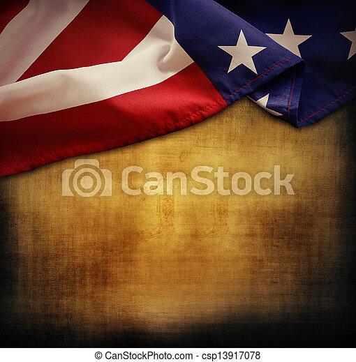 American flag - csp13917078