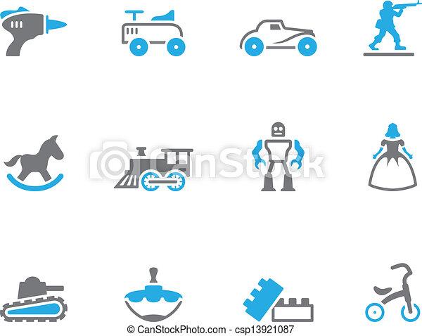 Duo Tone Icons - Toys - csp13921087