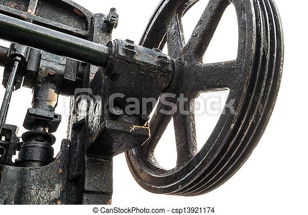 old machine - csp13921174