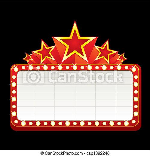 Neon sign - csp1392248