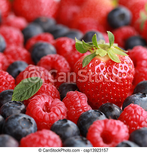 Summer fruits - csp13923157