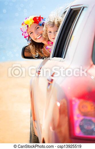 Summer car trip - csp13925519