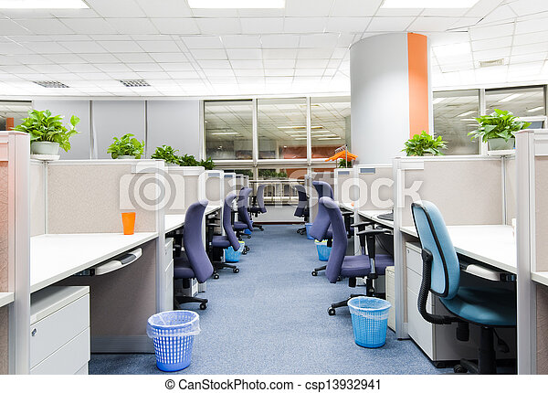 office work place - csp13932941