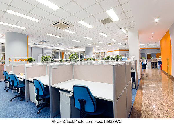 office work place - csp13932975