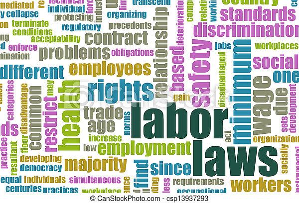 Labor Laws - csp13937293