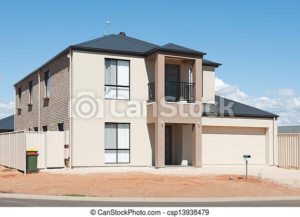Landhaus modern fassade  Stock Bilder von haus, australische - typisch, fassade, von, a ...