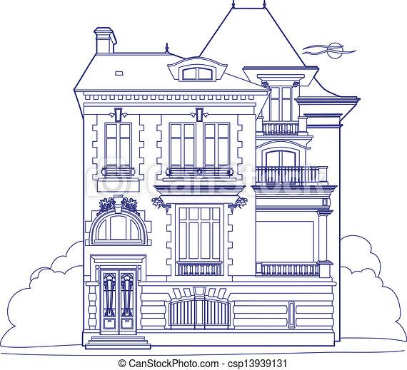 Imagenes De Mansiones Para Dibujar Imagui