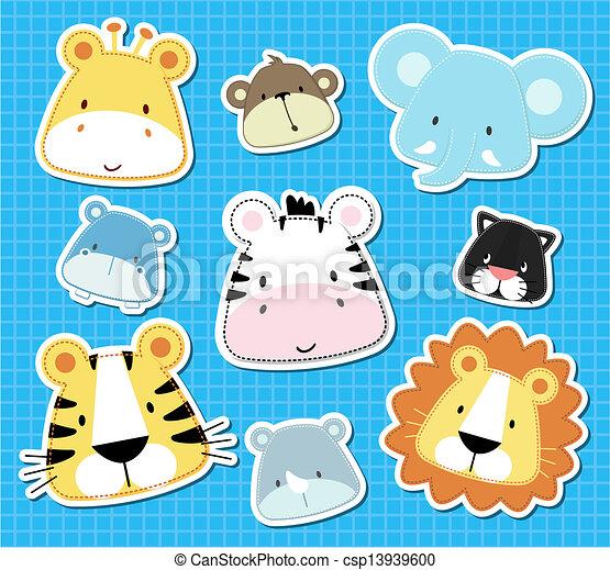 animal baby vector - csp13939600