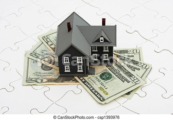 Understanding Mortgages - csp1393976