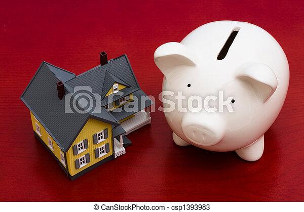 Home Finances - csp1393983