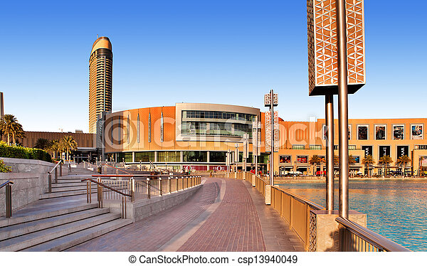 DUBAI, UAE - OCTOBER 23: Dubai Mall - world\'s largest shopping mall based on total area and sixth largest by gross leasable area, October 23, 2012 in Dubai, United Arab Emirates