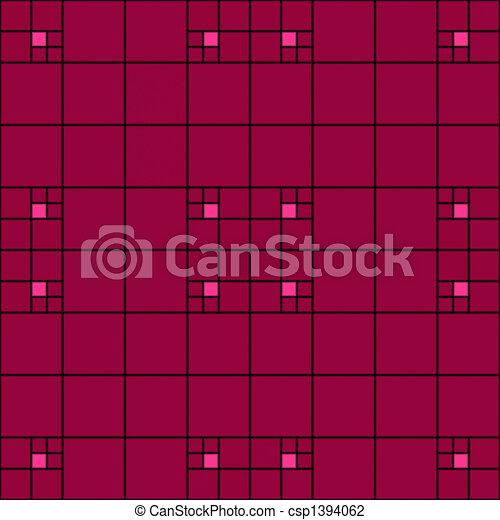Art Nouveau pattern - csp1394062