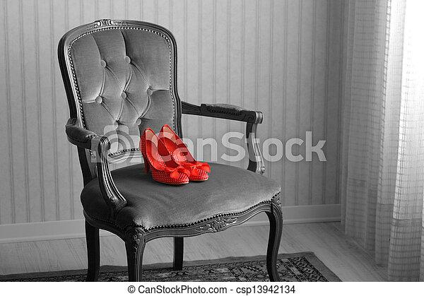 baroque armchair