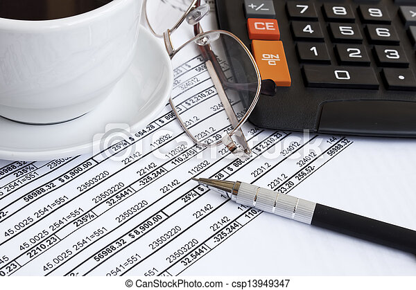 Accounting concept - csp13949347