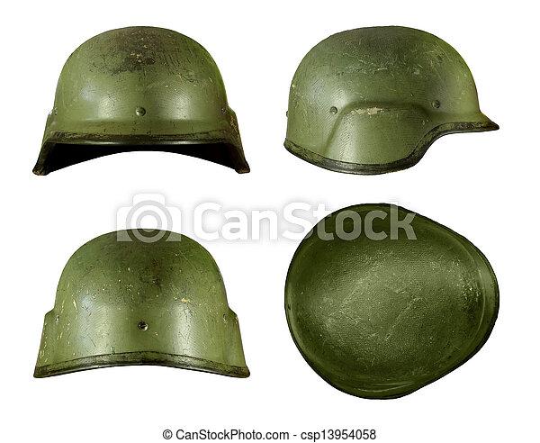 Military helmet - csp13954058