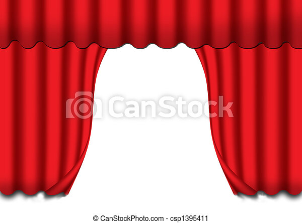 Stock illustration the curtains stock illustration royalty free