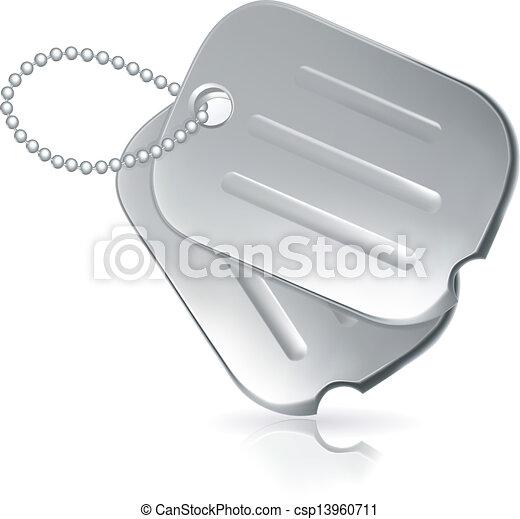 Military dog tags - csp13960711