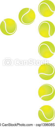 Tennis Ball Number 1
