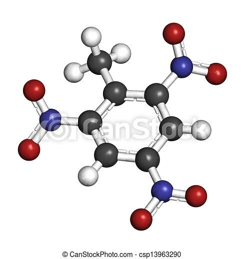 甲苯分子结构图