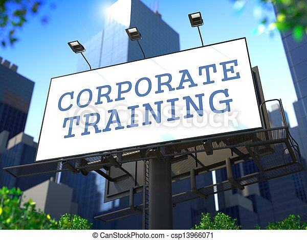 Corporate Training Concept. - csp13966071