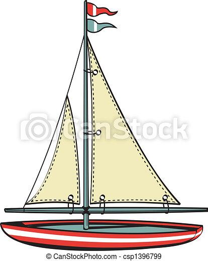 Sailboat Sailing Boat Clip Art - csp1396799