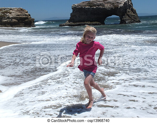 Natural Bridges State Beach - csp13968740
