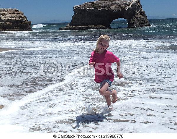 Natural Bridges State Beach - csp13968776