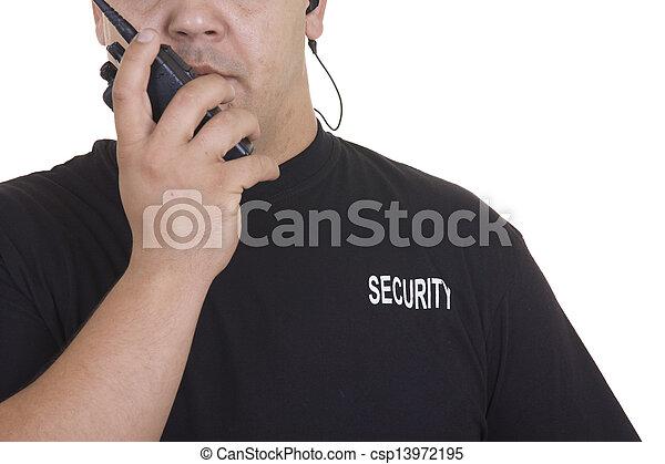 Security guard - csp13972195