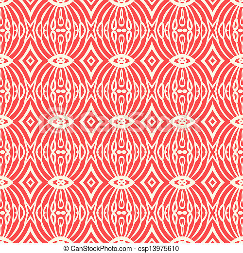 Seamless pattern in art deco style - csp13975610