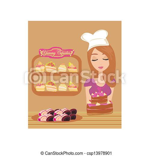 Bakery Clipart Bakery Store Vector Clipart