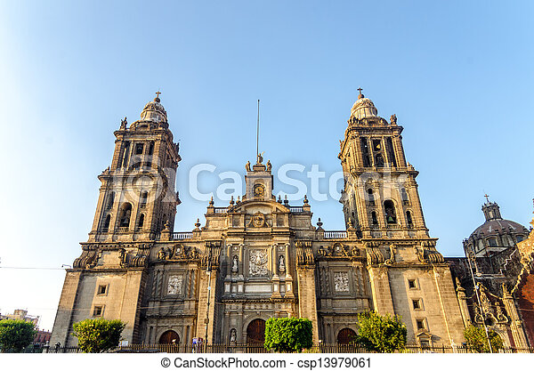 Mexico City Cathedral - csp13979061