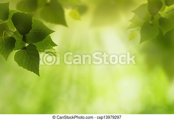 Green world, abstract environmental backgrounds for your design - csp13979297
